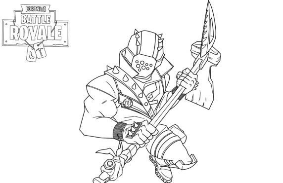 best of fortnite coloring pages pro