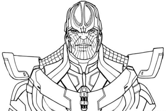 best of fortnite coloring pages thanos 1
