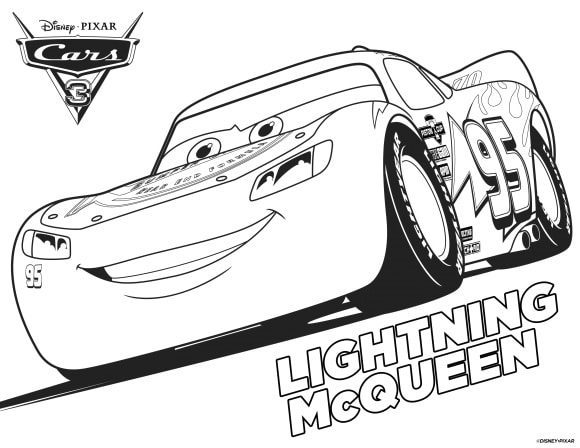 best of lightning mcqueen coloring pages