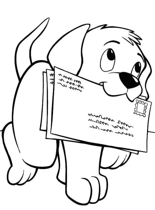 elegant coloring page puppies hd 1