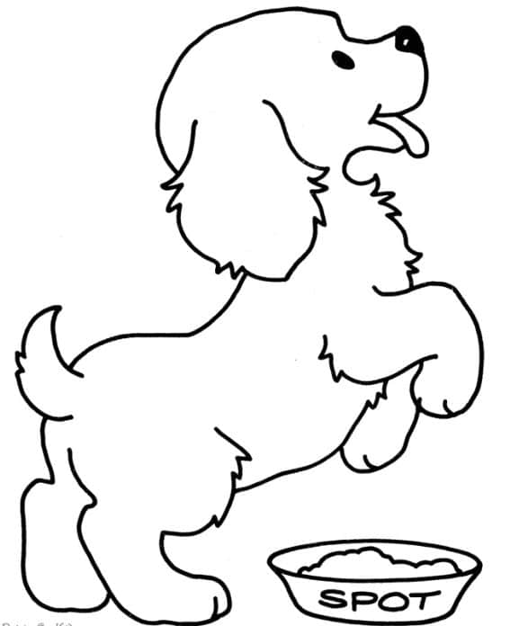 fresh coloring page puppies hd