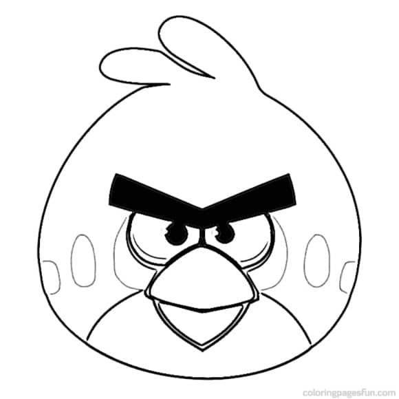 inspirational coloring page angry bird free
