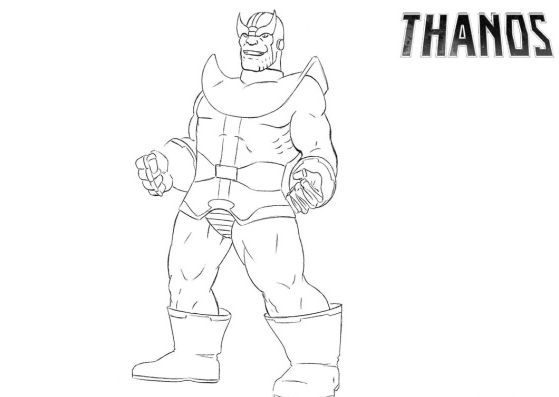inspirational fortnite coloring pages thanos
