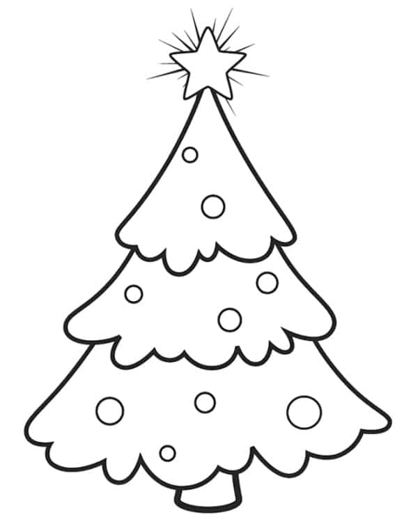 lovely coloring page christmas ornament hd 1