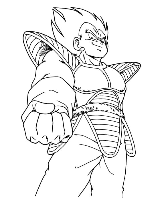 luxury coloring page dragon ball z free