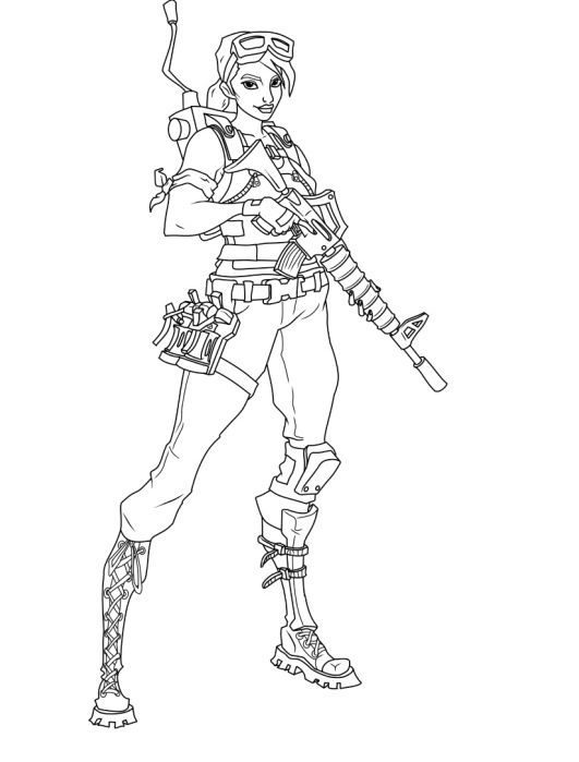 luxury fortnite coloring pages pro