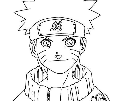 luxury naruto coloring pages