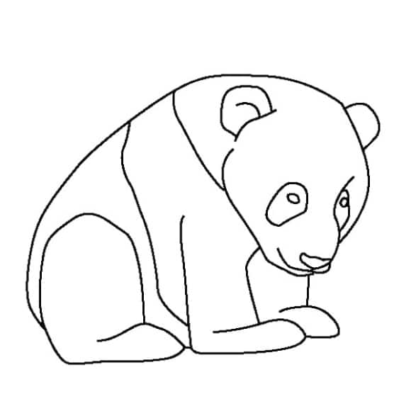 best of coloring page panda free 1