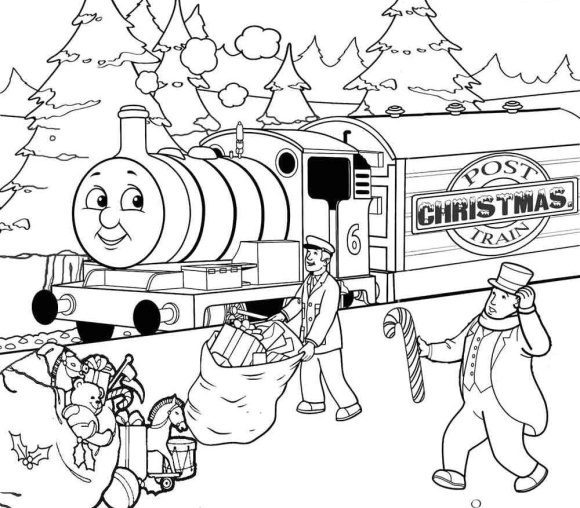 elegant coloring page thomas the train 1