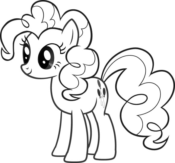 elegant coloring pages my little pony
