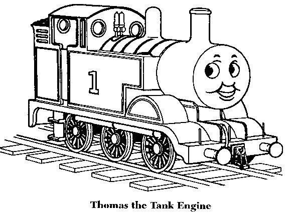 fresh coloring page thomas the train