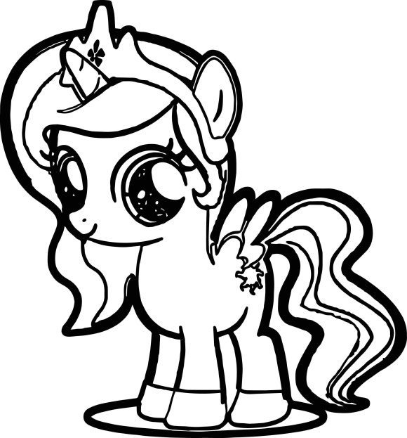 fresh coloring pages my little pony