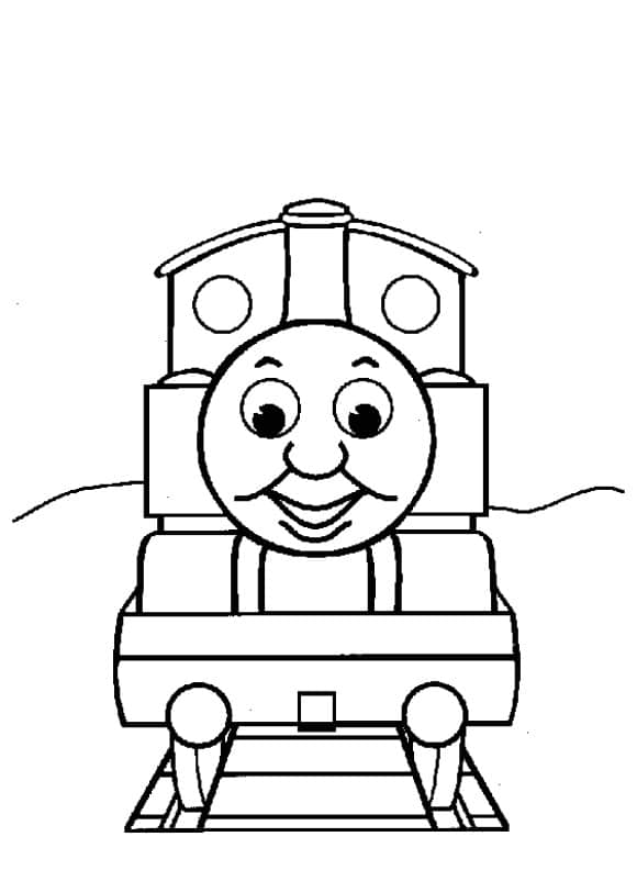 lovely coloring page thomas the train