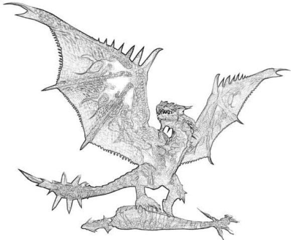 luxury monster hunter rathalos wyvern coloring pages