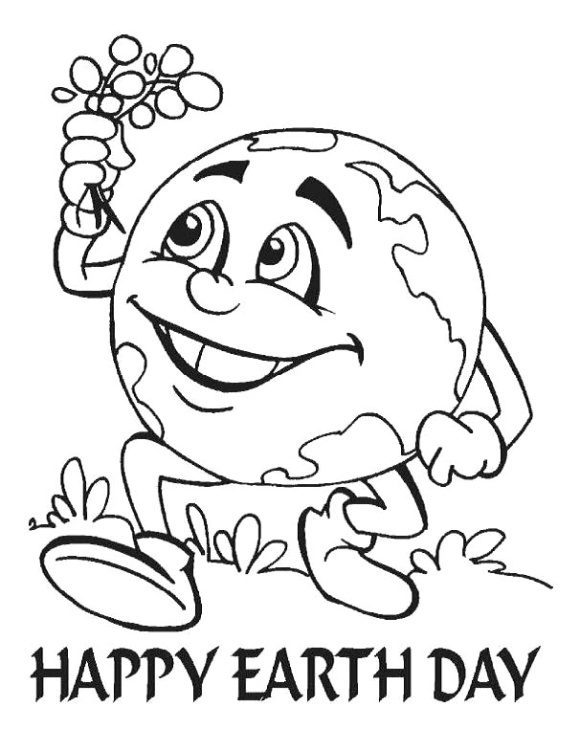 awesome earth day coloring pages 1