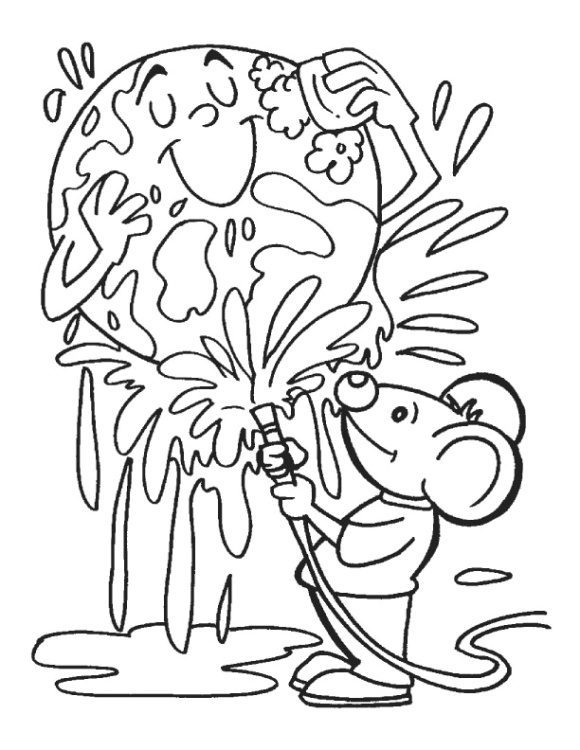beautiful earth day coloring pages