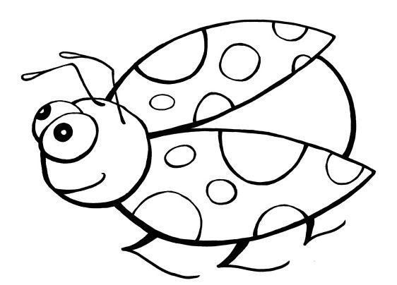 best of ladybug coloring page