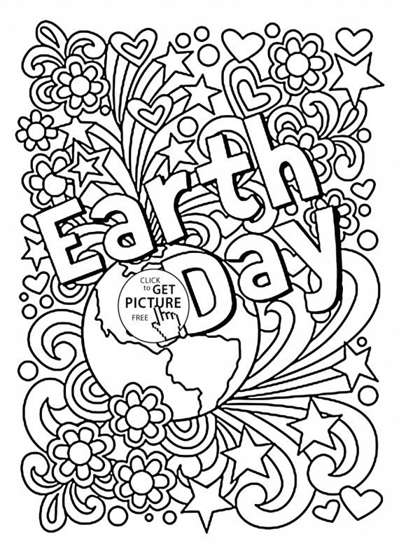 cool earth day coloring pages