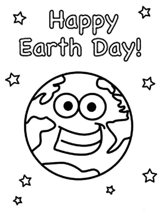 inspirational earth day coloring pages