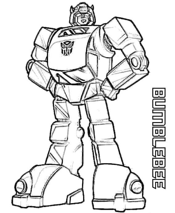 lovely bumble bee coloring page