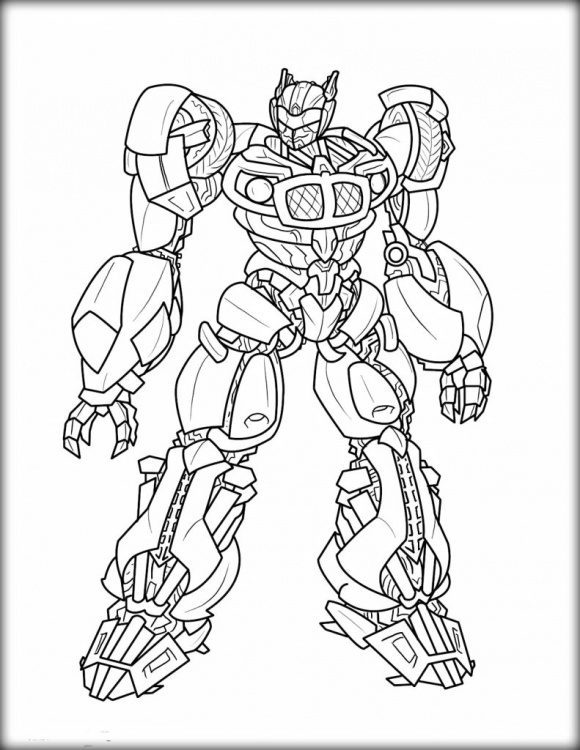 luxury bumble bee coloring page