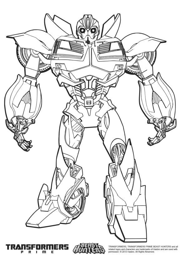 new bumble bee coloring page