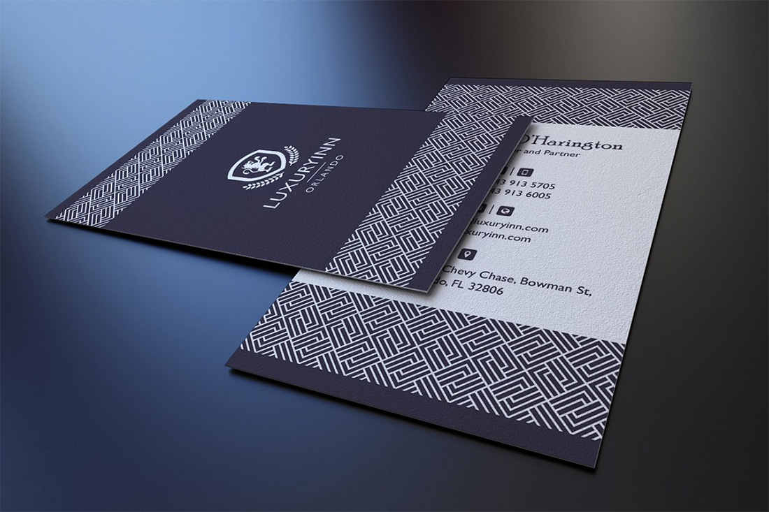 Elegant Pattern Business Card