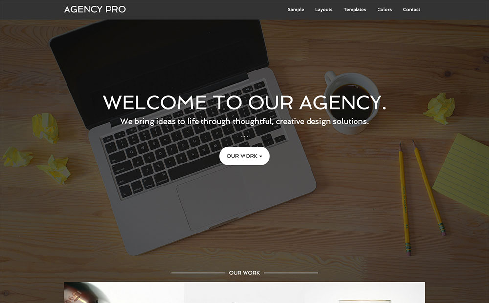 Agency Gensis child theme