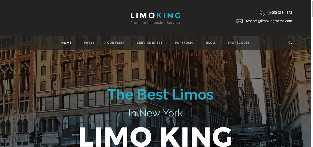 Limo King – Just another WordPress site