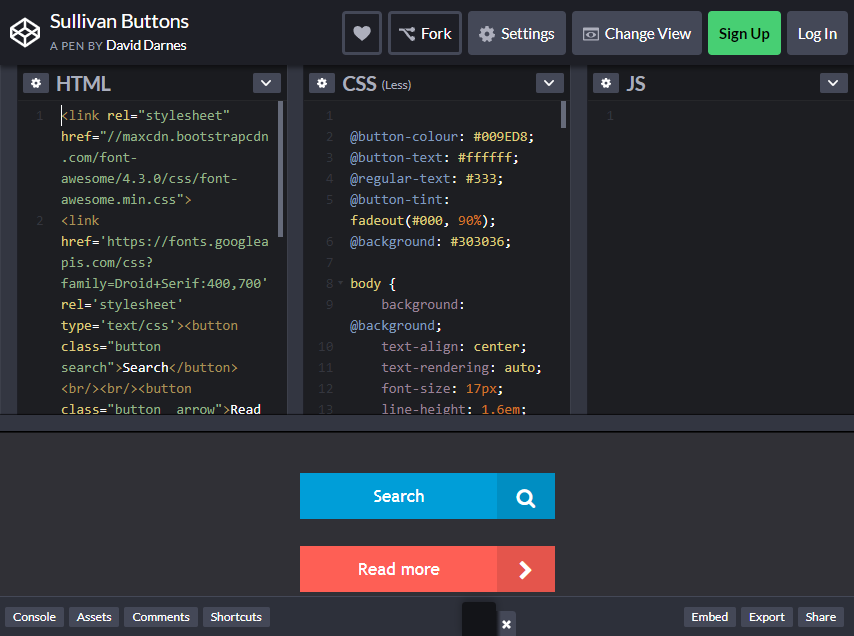 bootstrap buttons