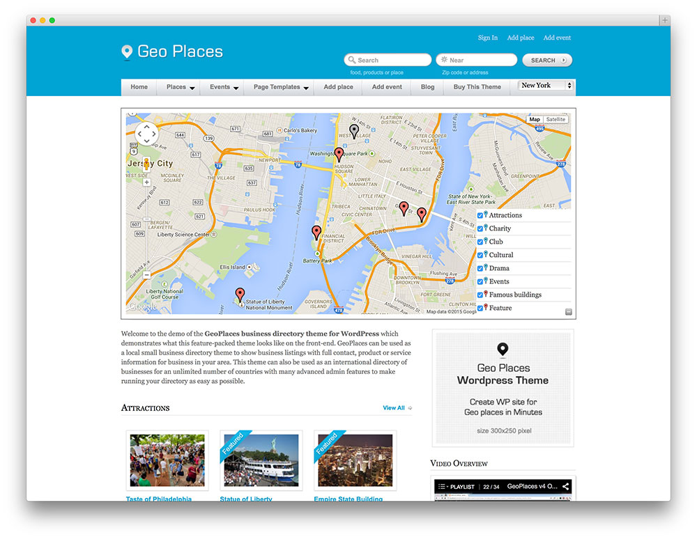 geo places - awesome directory theme