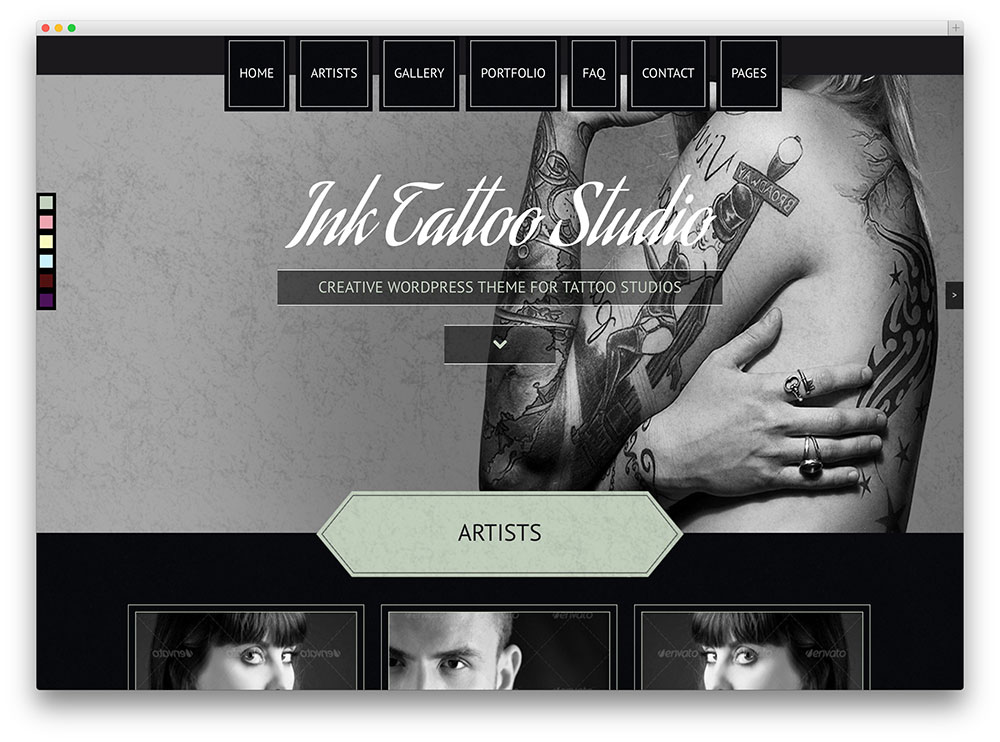 ink tatoo studio