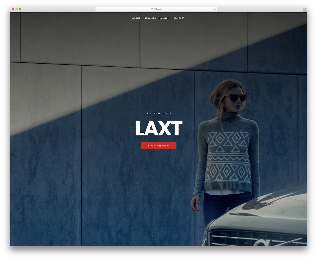 laxt coming soon template