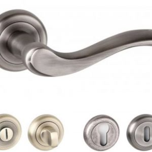 Warwick Radius Edge Lever Handles and Accessories Matt Gun Metal