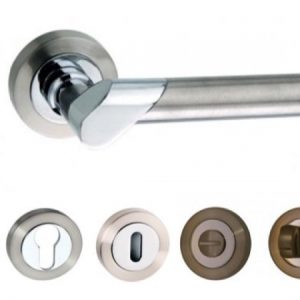 Tunis Lever Handles and Accessories SN/CP