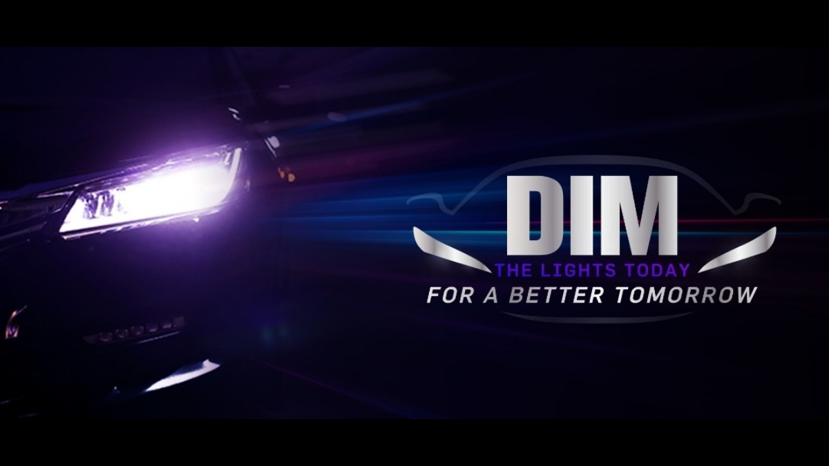 Apollo Tyres urges each one of us to #DimTheLights! for a safer driving experience at night