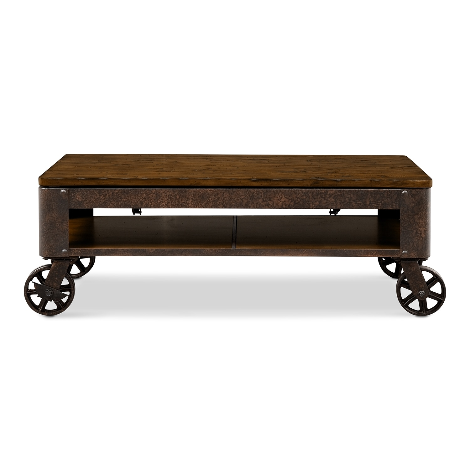 Shortline Lift Top Coffee Table Value City Furniture And Mattresses