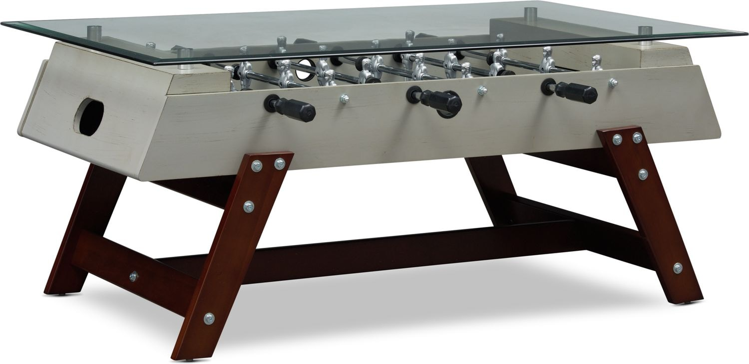 Foosball Coffee Table Value City Furniture And Mattresses