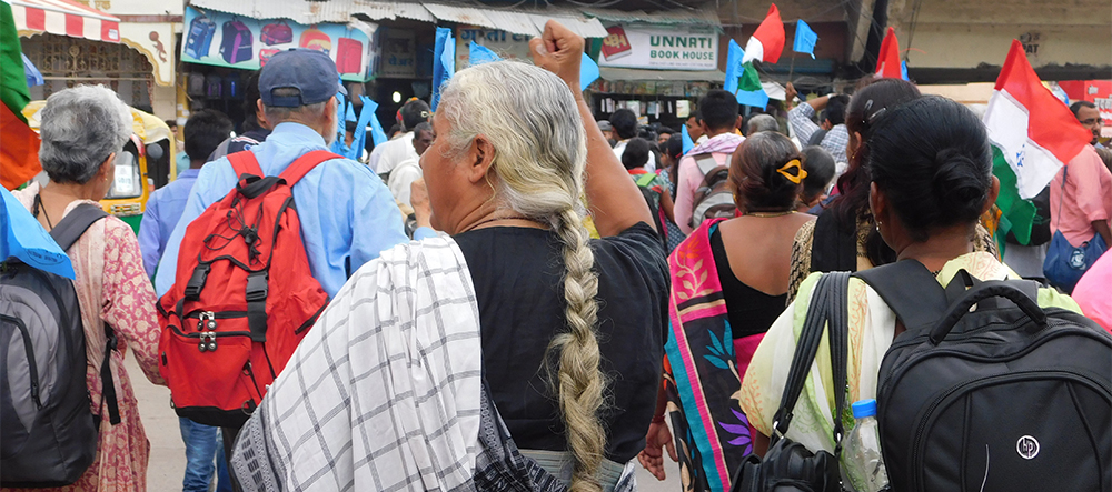 Rally for the Valley 2016. Indore Station. Photo: Natasha Narwal