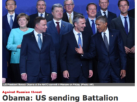 NATO Summit Closes By Condemning Russia