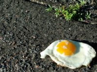 """July 2016 was """"the warmest month of any in a data record that can be extended back to the nineteenth century,"""" according to the U.K.-based Copernicus Climate Change Service (CCCS). Hot enough to fry an egg, they say. (Photo: Jen/cc/flickr)"""
