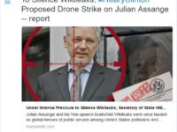Droning Julian Assange: The Clinton Formula