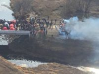 Armed Police Descend On Water Protectors At DAPL Site
