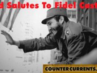 Revolutionary Greetings To Fidel Castro