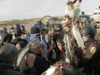 Standing Rock Stand From ADistance