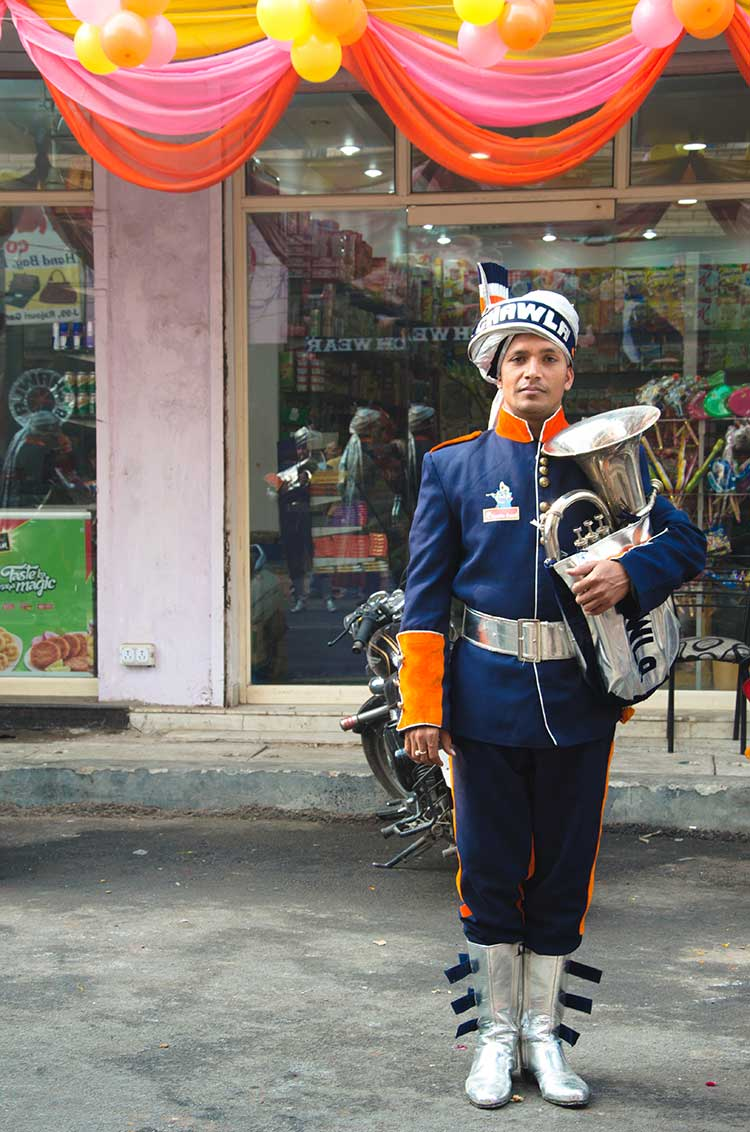 A member from the Chawla Band. Photo courtesy: Sadia Akhtar.