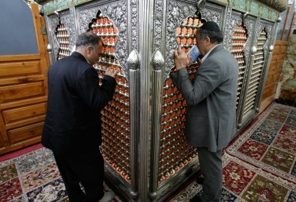 The tomb of the prophet Daniel, south of Tehran in Shush (ancient Susa), attracts Jews and Muslims alike.   Photo credit: AP