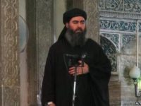 Islamic State's Chief Al-Baghdadi Survived a 'Coup' by his Fighters