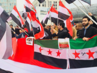 Ahwazi community in Berlin protest EU's silence on ongoing human rights abuses in  Ahwaz