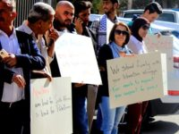 """Palestinians Hold Protest In Ramallah Against """"Betrayal"""" By South African Government Officials"""